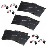 Harmony Audio (3) HA-724568 Factory Speaker Replacement Harness Bundle with Sound Dampening Speak...