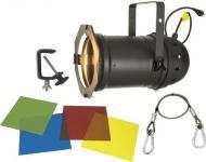 On Sale American DJ 64 BLACK COMBO Par 64 Lighting Package (Black) (Includes Clamp + Safety Cable...