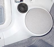 "Q Logic 84-96 Jeep Cherokee 6 1/2"" Custom Speaker Kick Panel"