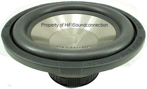 Diamond D112D2 Car Audio 12 IN Sub Woofer 500W Speaker