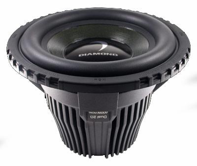 "Diamond Audio HP15 15"" 1000 Watt Subwoofer"
