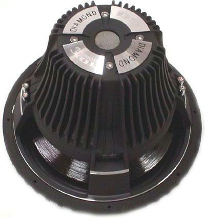 Diamond Audio D915D4 1000 Watts 15 Inch Car Audio Subwoofer