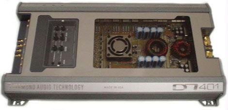 Diamond Audio D7152 2 Channel Amp Car Audio Amplifier