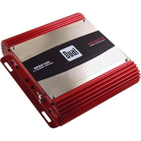 Dual XPA2100 Car Audio 2 Channel Speaker Amplifier 300W