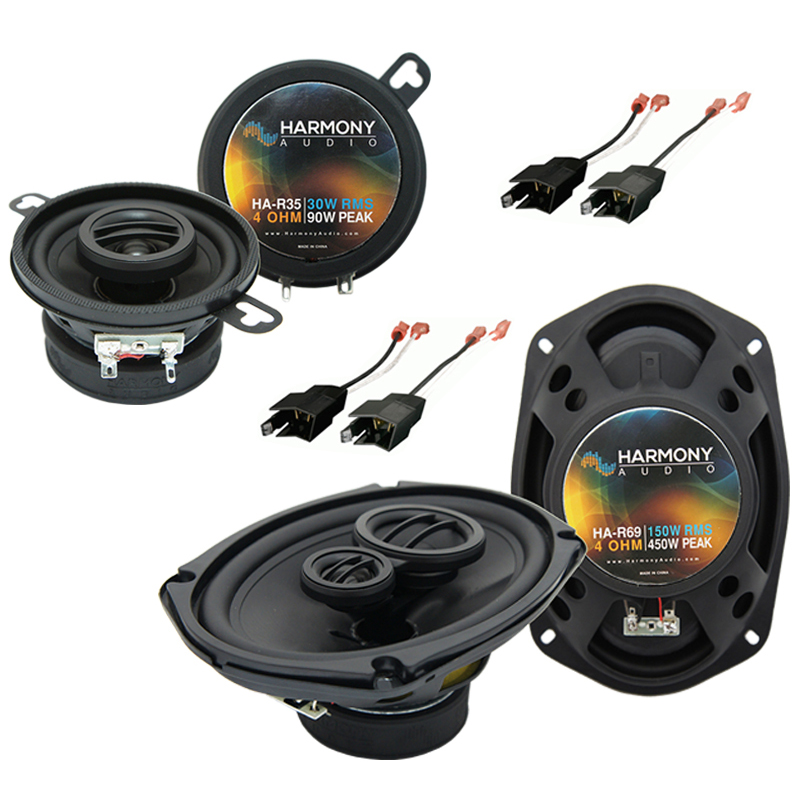 Dodge Diplomat 1984-1989 Factory Speaker Upgrade Harmony R35 R69 Package New