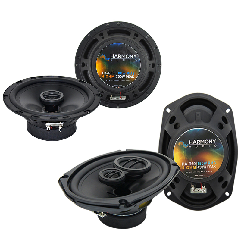 Dodge Stealth 1990-1996 Factory Speaker Upgrade Harmony R65 R69 Package New
