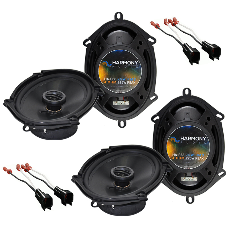Ford Focus 2000-2007 Factory Speaker Replacement Harmony (2) R68 Package New
