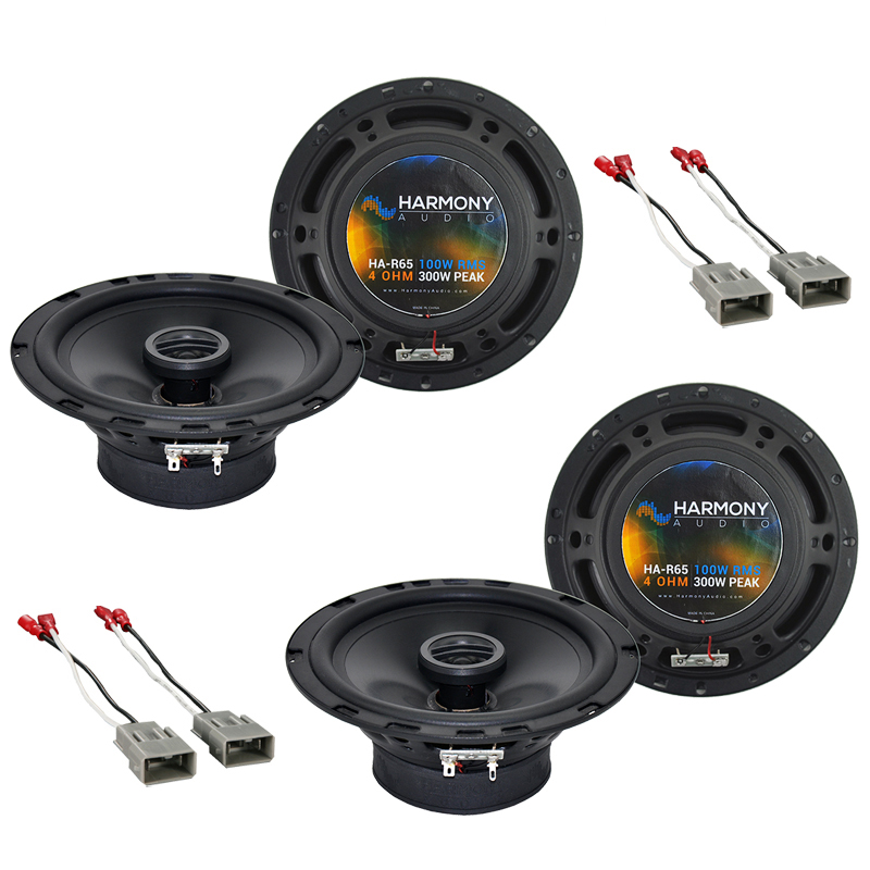 Honda Civic 1992-1995 Factory Speaker Replacement Harmony (2) R65 Package New