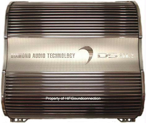 Diamond Audio D5600.4 4 Channel Amp Car Audio Amplifier
