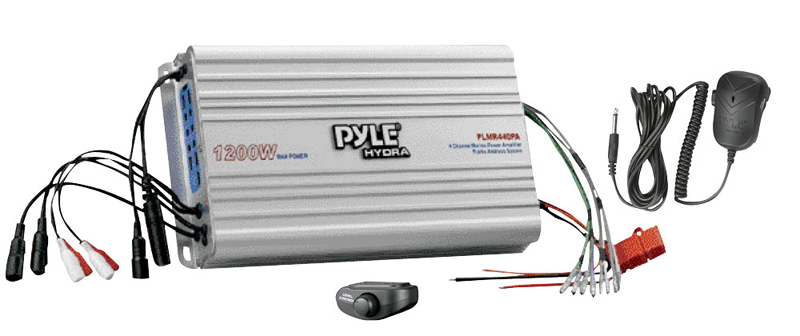 Pyle Marine Audio Plmr440pa 4 Channel Marine Power