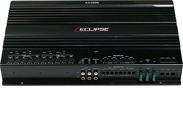 Eclipse XA4000 Car Stereo 4 Channel 1400 Watt Speaker Amplfier Closeout