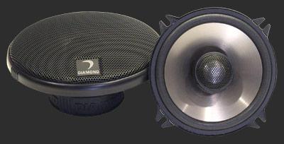 "Diamond Audio D342i Car Audio D3 Series Coaxial 4"" Speakers"