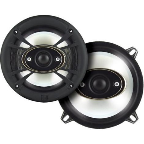 Dual XNP553 Car 5.25 Inch 3-Way Door Speakers 135W