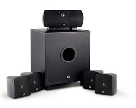 Dual LHT1000B 6-Piece Home Theater Speaker System