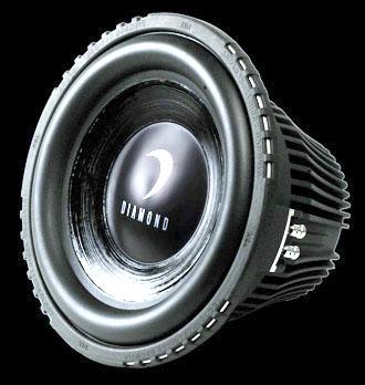 DIAMOND AUDIO TDX-10D2 800 WATT CAR AUDIO SUB SUBWOOFER