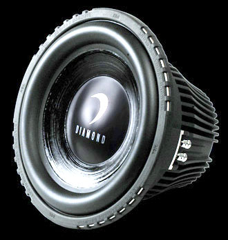 DIAMOND AUDIO TDX-10D4 800 WATT CAR AUDIO SUB SUBWOOFER