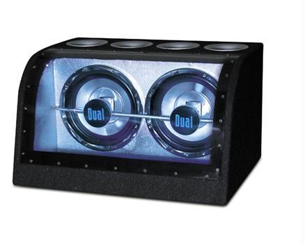 "Dual XiNBP210 Dual 10"" Bandpass Illuminite Sub System"