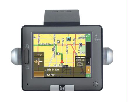Dual XNAV3500P Vehicle Navigation System