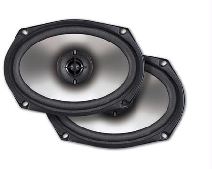 """Dual XP269 2-Way 6""""x9"""" Speakers 120 Watts Peak Power"""