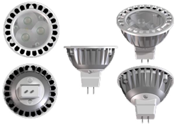 Elation ASM4402 4,000k 25 Deg 4.5W Led Lamp
