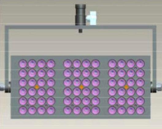 Elation TVL3B31 Joining Bracket for 3 pieces of TVL3000 LED Lighting