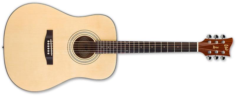 ESP LTD Xtone D5 Acoustic Guitar Natural Gloss Finish (XD5NAT)