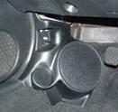 "Q Logic 02-06 Acura RSX 6 1/2"" Custom Speaker Kick Panel"