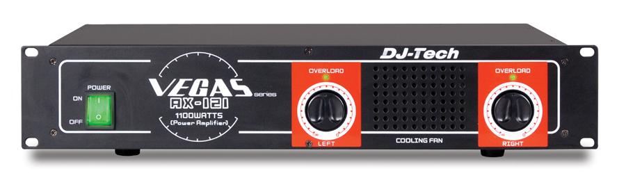 DJ Tech AX 121 1100 Watts Power Amplifier