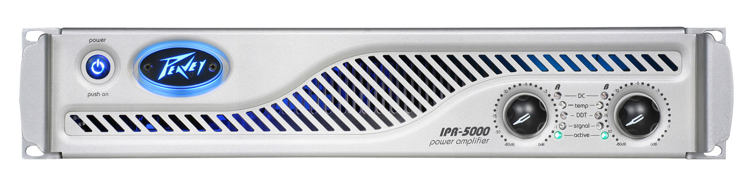 Peavey IPR 5000 Light Weight Power Amp 2525 Watts Aluminum Chassis-