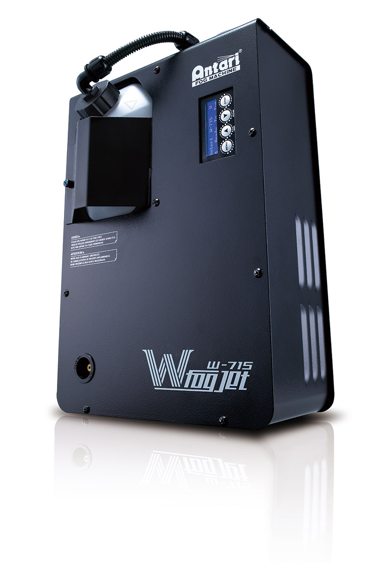 Elation W-715X Fog Jet Effect Machine with Advanced LCD Control Panel (ANF801)