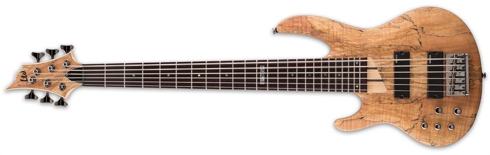 ESP LTD B-206 SM NS LH B Left Hand Bass Guitar Maple LB206SMNSLH  Return