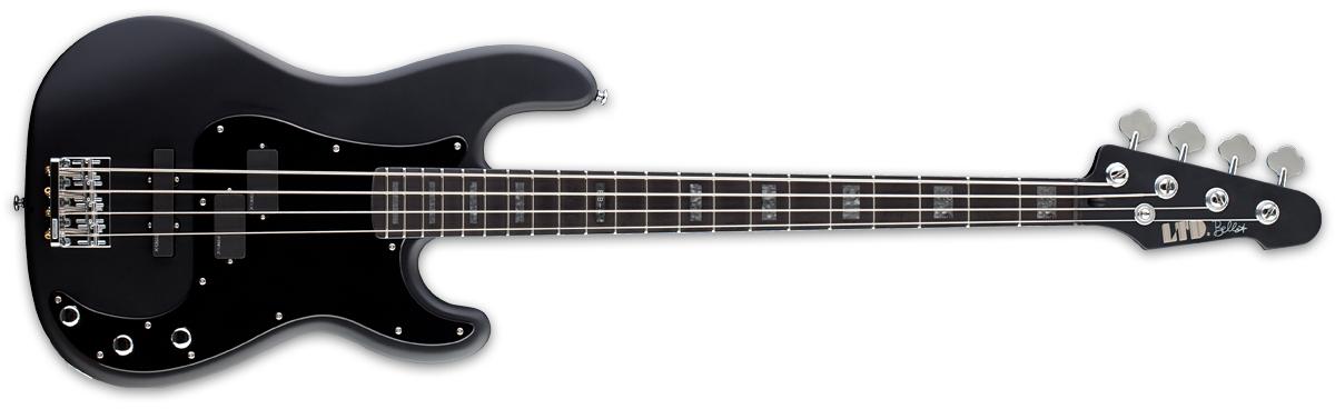 ESP LTD FRANK BELLO FB-4 BLKS Signature Series Bass Guitar with Black Satin Finish