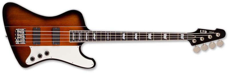 ESP LTD PHOENIX-1004 2TB Phoenix Series Bass Guitar - 2-Tone Burst Finish Mahogany Body & Ebony Fingerboard (LPHX10042TB)