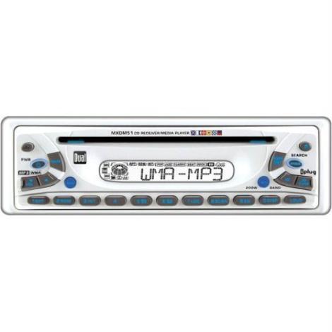 Dual MXDM51 Marine AM/FM/CD Player Boat Head Unit