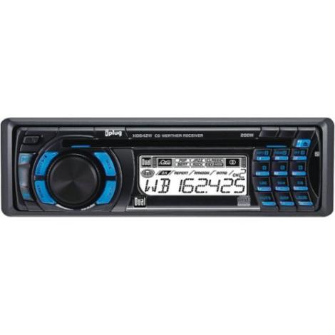 Dual XD-642W Marine Audio In-Dash CD Player AM/FM Receiver Boat Stereo