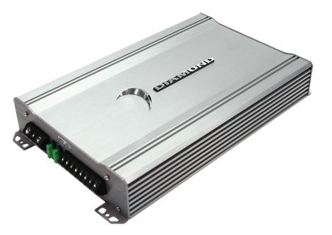 Diamond Audio D3 600.1 Car Audio Class D Mono 600 Watt Sub Subwoofer Amp Amplifier
