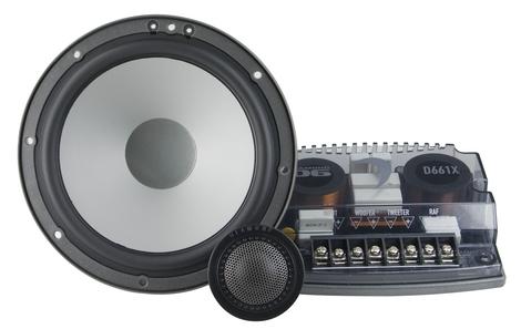"Diamond Audio D661s Car Audio 6"" Component Speakers W/ Silk Tweeters"