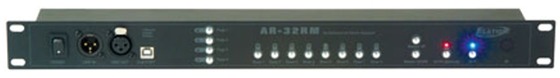 "Elation AR-32RM 19"" DMX Recorder / Playback Unit / System"