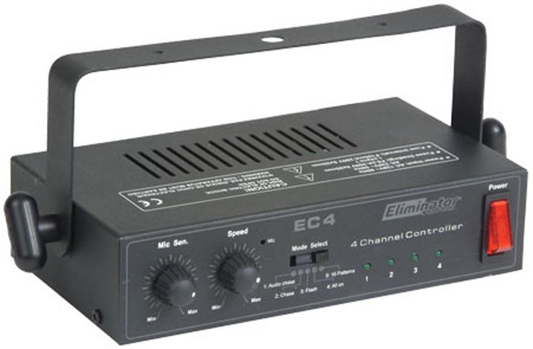 Eliminator Lighting EC-4 -4 Channel Light Controller
