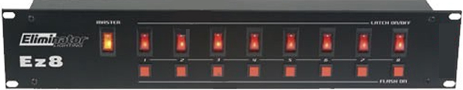 Eliminator Lighting EZ 8  -8 ch. Lighting Controller