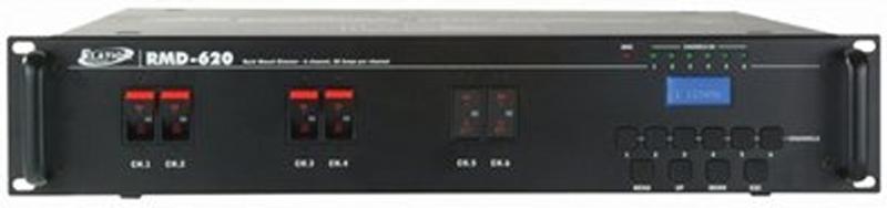Elation RMD620EP 6-Channel Dimmer Edison Rear Panel