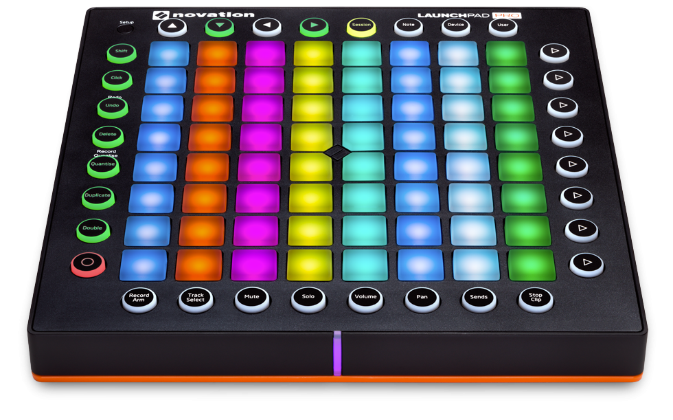 Novation LAUNCHPAD PRO Ableton Live USB MIDI Controller w/ 64 RGB Backlit Pressure Sensitive Pads