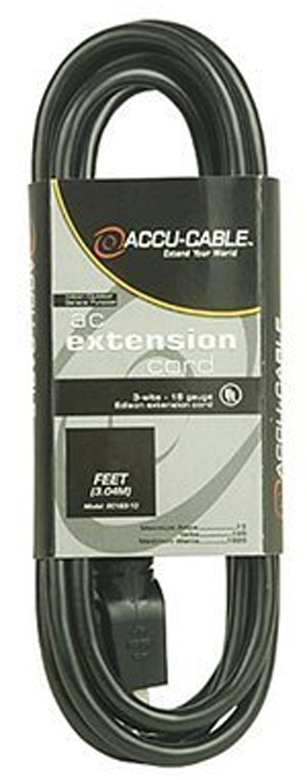 Elation EC123-100 100 Ft - 12 Gauge Black Cable