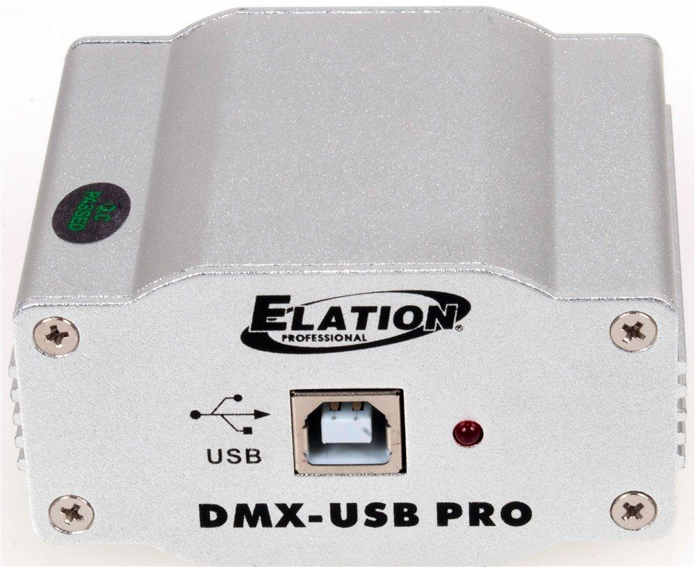 Elation DMX600 High Grade Media Master Express USB-DMX Trigger (DMX-USB PRO)