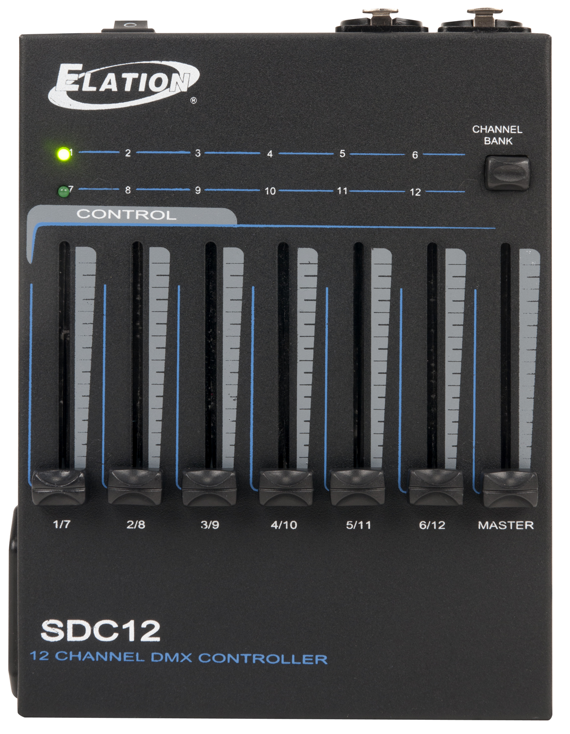 Elation SDC12 Battery Powered Portable Handheld DMX 12-Channel Controller - Limited Quanities!