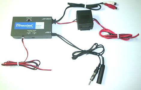 Directed RFM100 Car Mobile Video Audio Wired FM Modulator Transmitter