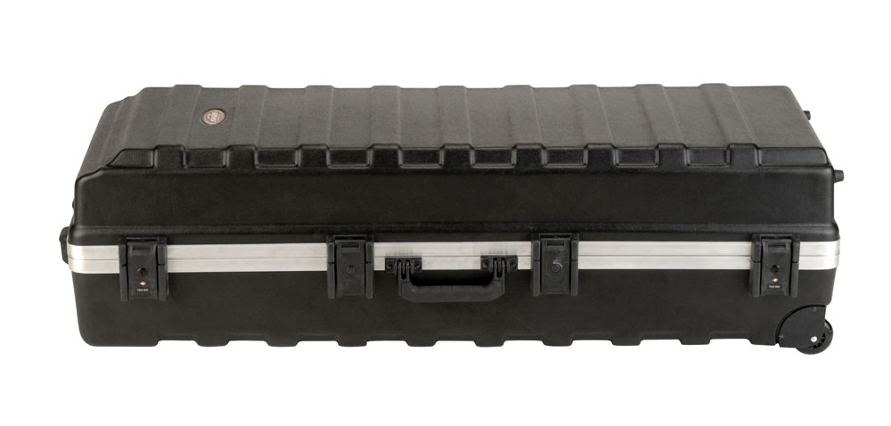 """SKB Cases 1SKB-H4816W ATA Large """"Rail-Pack"""" Drum Stand Case with Wheels (1SKBH4816W)"""