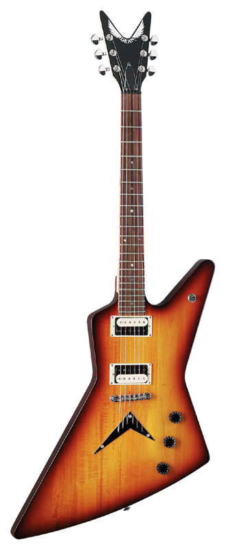 Dean ZX Electric Guitar w/ Rosewood Fingerboard - Trans Braziliaburst Finish (ZX TBZ)