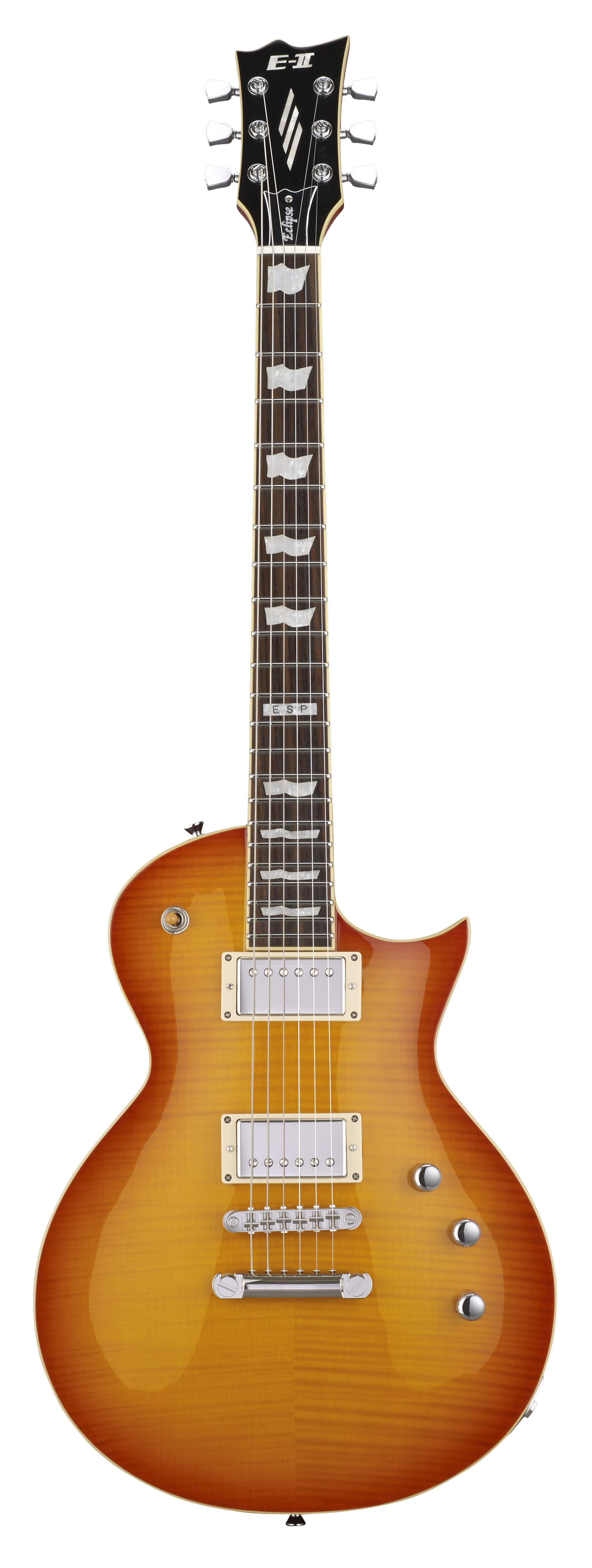 ESP ECLIPSE FM VHB E-II Electric Guitar with Seymour Duncans Pickups and Vintage Honey Burst Finish