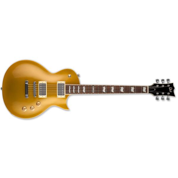 ESP LTD EC-256 MGO Standard Electric Guitar with Mahogany Body/Neck Metallic Gold Finish